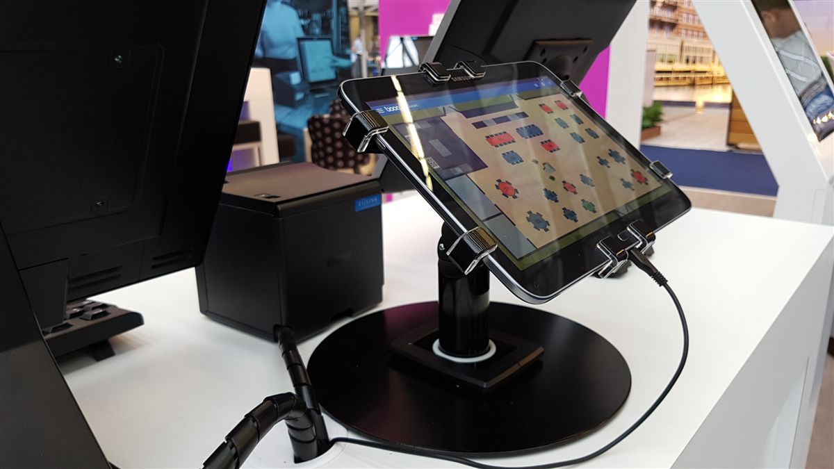 360 POS Tablet Kiosk  Gripzo introduces a 360 degree rotating Tablet Kiosk.